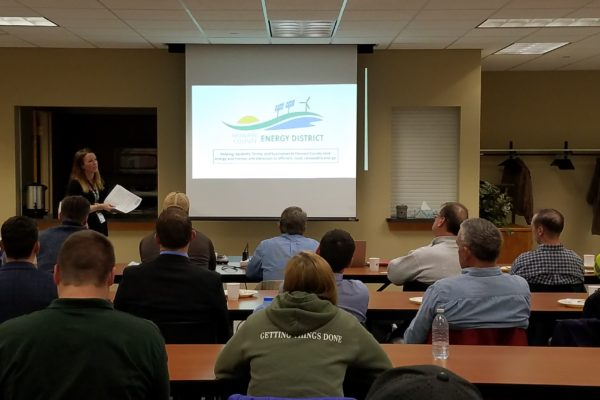 HCED Hosts Energy Efficiency Tour